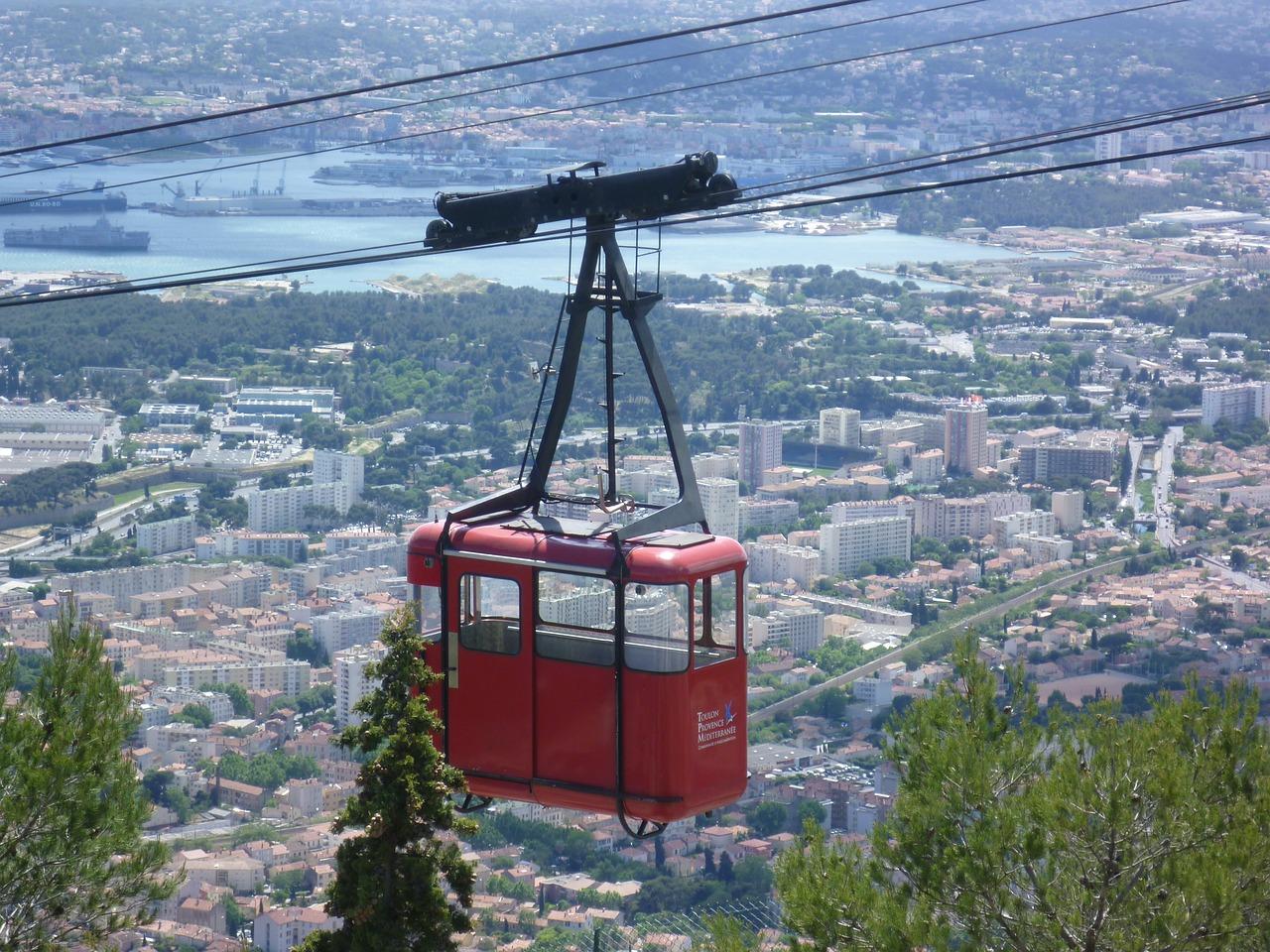 Ville De Toulon Téléphérique
